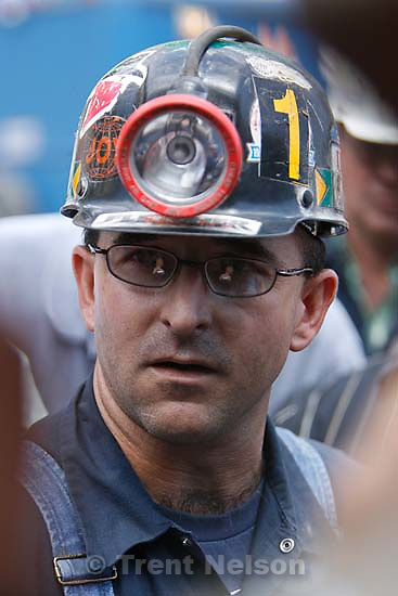 Huntington - Robert Murray, president and CEO of Ohio-based Murray Energy Corp, led reporters on a tour of the Crandall Canyon coal mine Wednesday, where six miners remained trapped. Bodee Allred, Mine Safety Manager