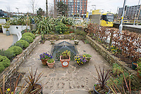 The Blue Peter Garden at Media City, Salford, Manchester.