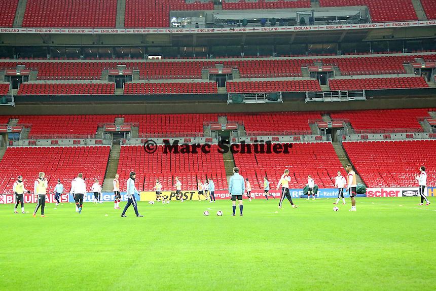 (D) - Abschlusstraining der Nationalmannschaft im Wembley Stadium