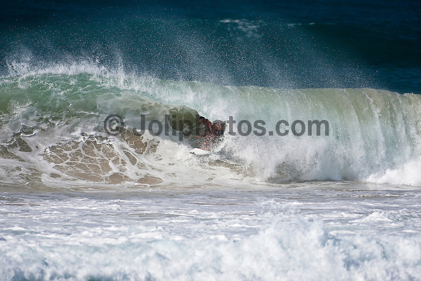 JOEL PARKINSON (AUS) surfing the Superbank, Coolangatta, Queensland, Australia during Cyclone jasper.  Photo: joliphotos.com