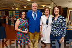 Trish O'Riordan, Jay Galvin, Grace O'Donnell and Racheal Fitzgerald at the Live Your Best Life! Mind, Body, Soul EXPO in the Rose Hotel on Sunday.