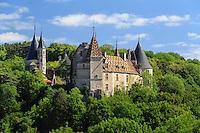 France, Côte-d'Or (21), la Rochepot, château de la Rochepot // France, Cote d'Or, La Rochepot, the castle of Rochepot
