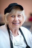 Kathy Lauriha, also known as The Sandwich Lady, of Campus Dining. (Photo by Marc Campos, Occidental College Photographer)