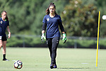 CARY, NC - JUNE 29: Sabrina D'Angelo. The North Carolina Courage held a training session on June 29, 2017, at WakeMed Soccer Park Field 6 in Cary, NC.