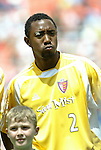31 August 2004: Cory Gibbs. The MLS Eastern Conference All Stars defeated the MLS Western Conference All Stars 3-2 at RFK Stadium in Washington, DC in the Major League Soccer Sierra Mist All-Star Game..