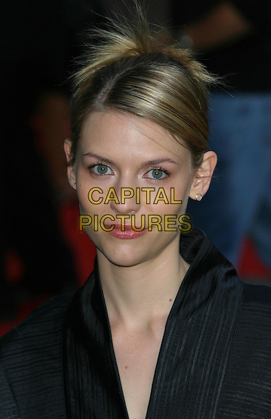 CLAIRE DANES.Terminator 3 - Rise Of The Machines Premiere, Odeon Leicester Square, London.21st July 2003.headshot, portrait .www.capitalpictures.com.sales@capitalpictures.com.Supplied By Capital PIctures