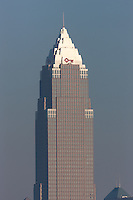 The Key Tower in Cleveland, Ohio.  The building is the tallest in Ohio and in the top 20 in the US