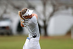 WILMINGTON, NC - OCTOBER 28: UCF's Kaeli Jones on the 14th tee. The second round of the Landfall Tradition Women's Golf Tournament was held on October 28, 2017 at the Pete Dye Course at the Country Club of Landfall in Wilmington, NC.