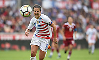 Houston, TX - Sunday April 8, 2018: Carli Lloyd during an International friendly match versus the women's National teams of the United States (USA) and Mexico (MEX) at BBVA Compass Stadium.