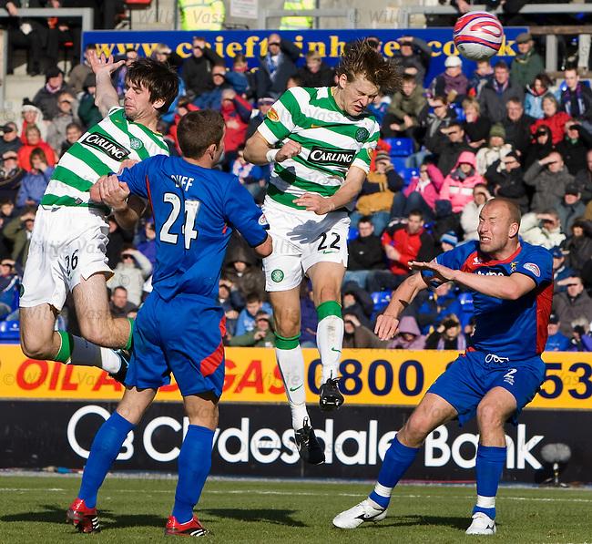 Glen Loovens scores for Celtic