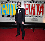 Max von Essen.attending the Broadway Opening Night Performance After Party for 'EVITA' at the Mariott Marquis Hotel in New York City on 4/5/2012
