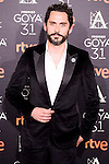Paco Leon attends to the 2017 Goya Awards Candidates Cocktail at Ritz Hotel in Madrid, Spain. January 12, 2017. (ALTERPHOTOS/BorjaB.Hojas)