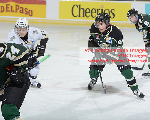 Cobourg, ON. - May 13 2017 - Game 2 - Trenton Golden Hawks vs. Cobourg Cougars during the 2017 RBC Cup at the Cobourg Community Centre in Cobourg, Ontario, Canada (Photo: Matthew Murnaghan/Hockey Canada Images)