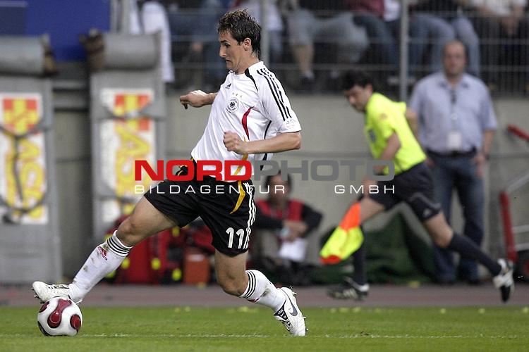 Qualifikation  EM 2007 Gruppe: D<br /> <br /> Deutschland (GER) - Slowakei ( SVK ) 2:1<br /> <br /> Miroslav Klose<br />  <br /> Foto &copy; nordphoto <br /> <br /> <br /> <br />  *** Local Caption ***