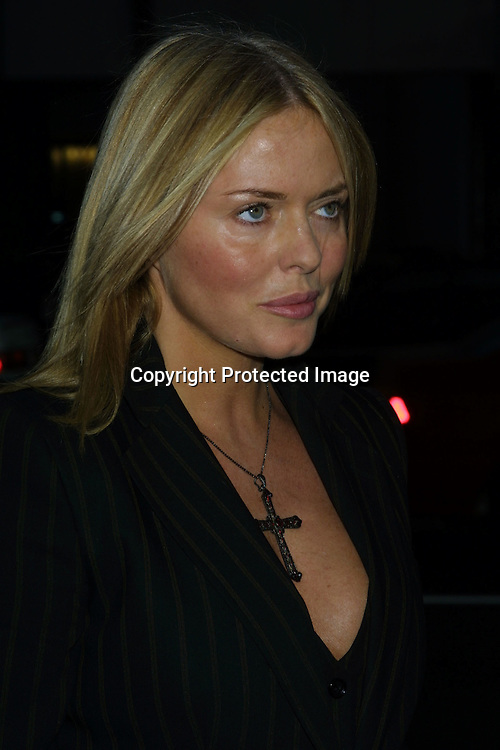 "©2002 KATHY HUTCHINS / HUTCHINS PHOTO .""SLAP HER.....SHE'S FRENCH"" MOVIE PREMIERE.BEVERLY HILLS, CA.8/28/02..PATSY KENSIT"