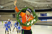SPEED SKATING: CALGARY: Olympic Oval, 08-03-2015, ISU World Championships Allround, World Champion Sven Kramer (NED), ©foto Martin de Jong