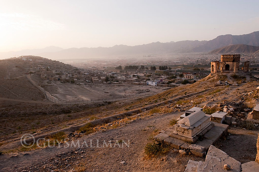 Grave of Sayed Noor Mohammad Shah. Kabul. 11-9-10