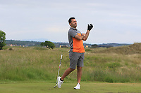 Gary O'Flaherty (Cork) on the 15th tee during Round 3 of the East of Ireland Amateur Open Championship 2018 at Co. Louth Golf Club, Baltray, Co. Louth on Monday 4th June 2018.<br /> Picture:  Thos Caffrey / Golffile<br /> <br /> All photo usage must carry mandatory copyright credit (&copy; Golffile | Thos Caffrey)