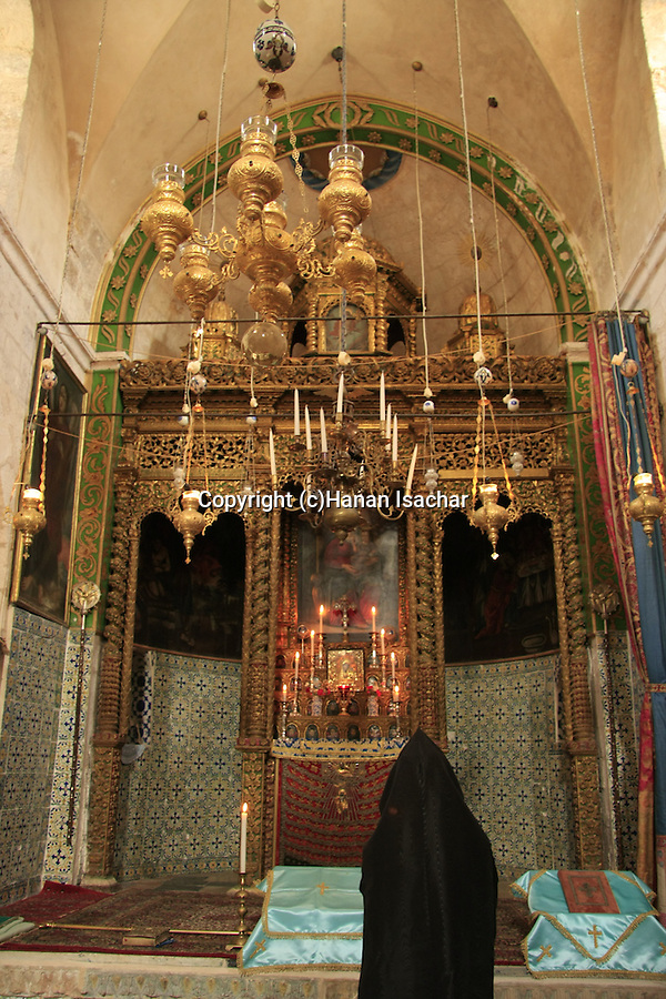 Israel, Jerusalem Old City, Easter, Armenian Orthodox Maundy Thursday ceremony