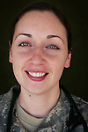 Capt. Gwendolyn Brophy, M.D., 30, Pittsburgh, PA, Neurologist, Charlie Medical Company 501st Field Support Battalion 1st Brigade 1st Armored Division taken at the company's medical facility at Camp Ramadi, Iraq on Friday Sept. 29, 2006.