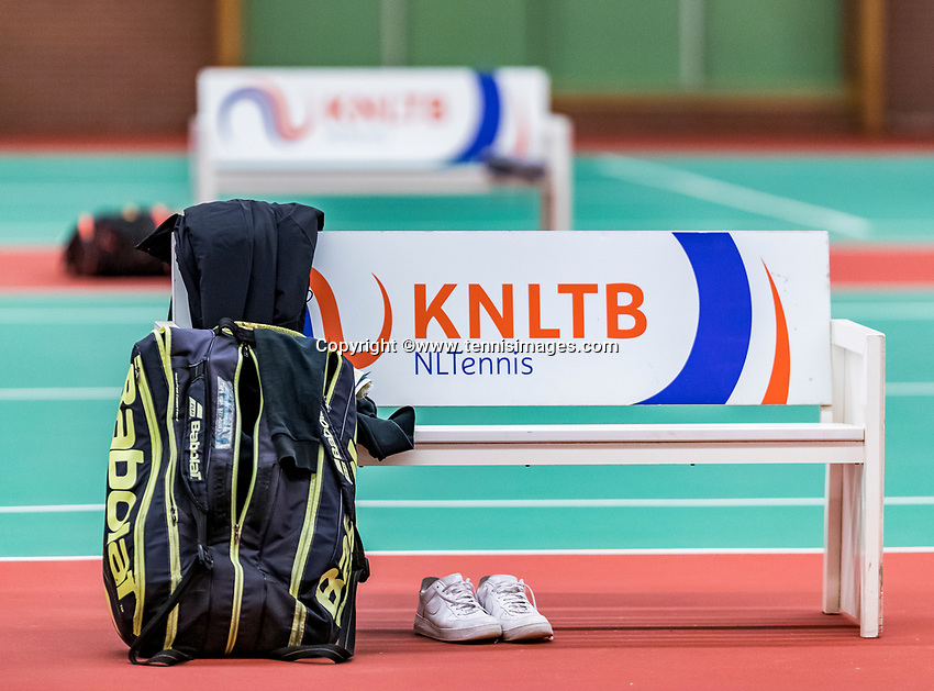 Wateringen, The Netherlands, November 27 2019, De Rhijenhof , NOJK 12 and16 years, KNLTB bench<br /> Photo: www.tennisimages.com/Henk Koster