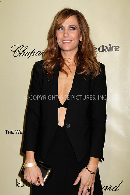 WWW.ACEPIXS.COM....January 13 2013, LA....Kristen Wiig arriving at The Weinstein Company's 2013 Golden Globe Awards after party at The Beverly Hilton Hotel on January 13, 2013 in Beverly Hills, California. ........By Line: Nancy Rivera/ACE Pictures......ACE Pictures, Inc...tel: 646 769 0430..Email: info@acepixs.com..www.acepixs.com