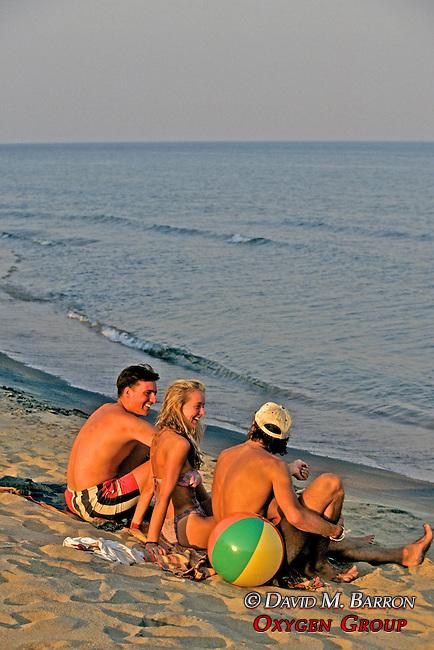 Friends At Livingstonia Hotel Beach