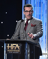 BEVERLY HILLS - NOVEMBER 3: Jon Hamm appears onstage at the 2019 Hollywood Film Awards at the Beverly Hilton on November 3, 2019 in Beverly Hills, California. (Photo by Frank Micelotta/PictureGroup)