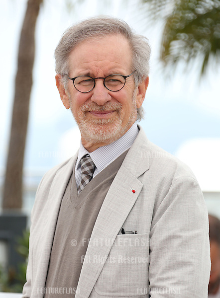 Steven Spielberg at the 66th Cannes Film Festival - Jury photocall.Cannes, France. 15/05/2013 Picture by: Henry Harris / Featureflash