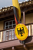 Spain, Canary Islands, La Palma, Santa Cruz de La Palma: capital - honorary consulate of the Federal Republik of Germany