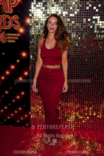 Jennifer Metcalfe arriving for the 2014 British Soap Awards, at the Hackney Empire, London. 24/05/2014 Picture by: Dave Norton / Featureflash