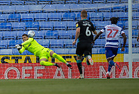 Reading's Rafael (left) punches the goal keeps as Swansea City come close to scoring again. <br /> <br /> Photographer David Horton/CameraSport<br /> <br /> The EFL Sky Bet Championship - Reading v Swansea City - Wednesday July 22nd 2020 - Madejski Stadium - Reading <br /> <br /> World Copyright © 2020 CameraSport. All rights reserved. 43 Linden Ave. Countesthorpe. Leicester. England. LE8 5PG - Tel: +44 (0) 116 277 4147 - admin@camerasport.com - www.camerasport.com