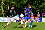 19.07.2017, Sportpark, Grassau, GER, FSP, FSV Mainz 05 vs FC Tokyo, im Bild Jairo Samperio (Mainz #17), Yu Insoo (Tokyo #21)<br /> <br /> Foto &copy; nordphoto / Hafner