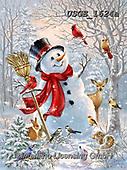 Dona Gelsinger, CHRISTMAS SANTA, SNOWMAN, WEIHNACHTSMÄNNER, SCHNEEMÄNNER, PAPÁ NOEL, MUÑECOS DE NIEVE, paintings+++++,USGE1624A,#x#