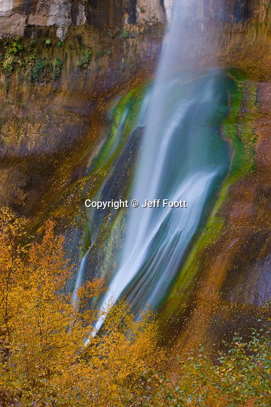 Calf Creek Falls in Grand Staircase-Escalante National Monument, Fall.