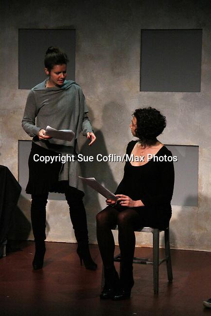 "One Life To Live's Florencia Lozano ""Tea Delgado stars with Amanda Sayle a in ""Verbatim Verboten - NYC"" on October 18, 2010 at the WorkShop Theater, NYC. (Photo by Sue Coflin/Max Photos)"