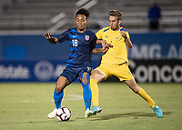 Bradenton, FL - Saturday, November 03 2018:  The USMNT U-20 competes in the CONCACAF U-20 Championship against the US Virgin Islands at IMG Academy Stadium Field.