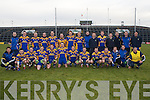 PLACE IN THE FINAL: The Spa team who booked their place in the AIB GAA Football All-Ireland Intermediate Club Championship Final with a win over Maynooth in Limerick on Sunday.