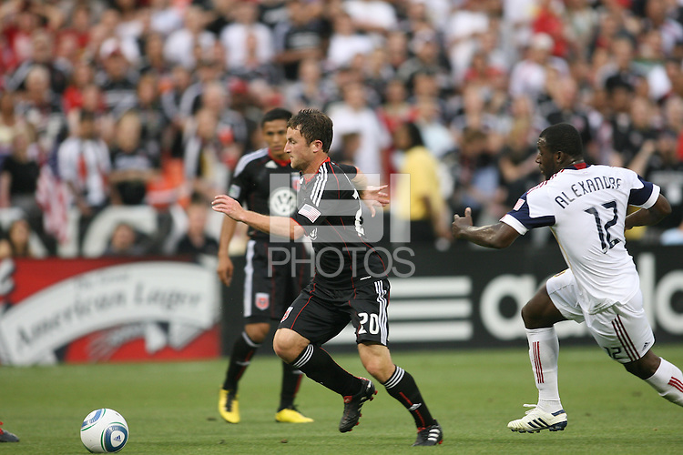 of D.C. United of Real Salt Lake during an MLS match at RFK Stadium, on June 5 2010 in Washington DC. The game ended in a 0-0 tie.