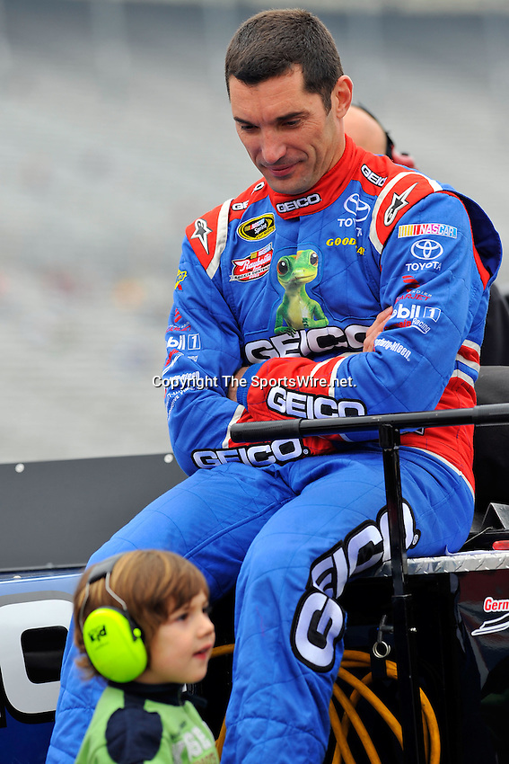 Mar 07, 2009; 10:48:33 AM; Hampton, GA, USA; NASCAR Camping World Truck Series qualifying for the American Commercial Lines 200 at the Atlanta Motor Speedway.  Mandatory Credit: (thesportswire.net)