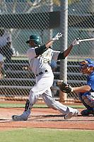 Myrio Richard - Oakland Athletics 2009 Instructional League.Photo by:  Bill Mitchell/Four Seam Images..
