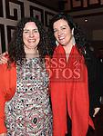 Gemma Byrne and Labhaoise McKenna celebrating their 40th birthdays in Redz. Photo:Colin Bell/pressphotos.ie