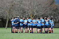 Hurricanes U15 Rugby - John McGlashan College v Hato Paora College at Trentham Memorial Park, Upper Hutt, New Zealand on Friday 7 September 2018.<br /> Photo by Masanori Udagawa. <br /> www.photowellington.photoshelter.com