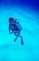 DIVERS<br /> Diver with Gear Underwater.