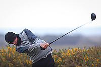 Luke O'Neill (Connemara) on the 5th tee during the Final Round of the Connacht U18 Boys Open 2018 on Carne Golf Links at Belmullet Golf Club on Sunday 6th April 2018.<br /> Picture:  Thos Caffrey / www.golffile.ie<br /> <br /> All photo usage must carry mandatory copyright credit (&copy; Golffile | Thos Caffrey)