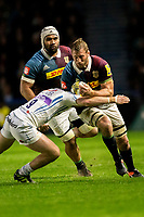 Harlequins' Chris Robshaw in action during todays match<br /> <br /> Photographer Bob Bradford/CameraSport<br /> <br /> Aviva Premiership Round 20 - Harlequins v Exeter Chiefs - Friday 14th April 2016 - The Stoop - London<br /> <br /> World Copyright &copy; 2017 CameraSport. All rights reserved. 43 Linden Ave. Countesthorpe. Leicester. England. LE8 5PG - Tel: +44 (0) 116 277 4147 - admin@camerasport.com - www.camerasport.com