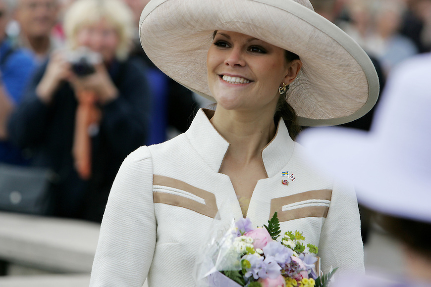 Oslo, 20050610. Kronprinsesse Victoria av Sverige. .