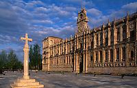 Parador im ehemaligen Kloster San Marcos, León, Kastilien-Léon, Spanien.