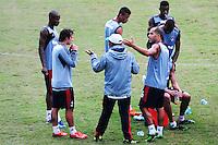 RIO DE JANEIRO,RJ,23.05.2013: TREINO DO FLUMINENSE CT LARANJEIRAS- O time do Fluminense realizou nesta tarde de quarta-feira um treino no Campo das laramjeiras. SANDROVOX/BRAZILPHOTOPRESS