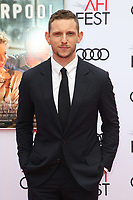 HOLLYWOOD, CA - NOVEMBER 12: Jamie Bell at the Film Stars Won't Die In Liverpool Special Screening at the TCL Chinese Theatre in Hollywood, California on November 12, 2017. Credit: Faye Sadou/MediaPunch /NortePhoto.com